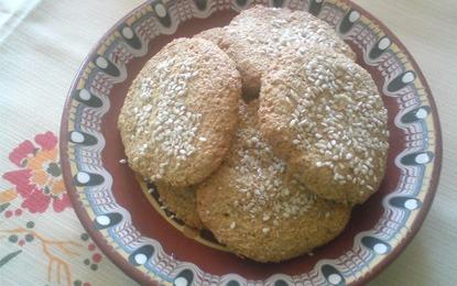 Диетични бисквити с овесени трици