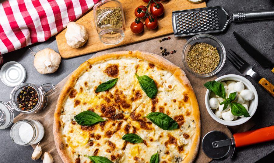 пица с 4 сирена